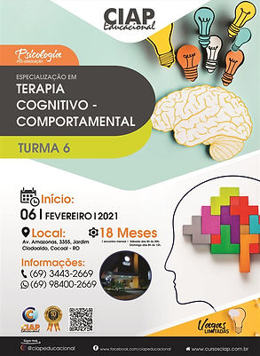 Especialização em TCC Cognitivo comporta