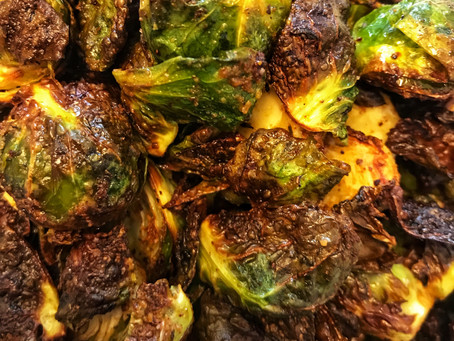 Perfect Crispy Brussel Sprouts