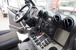 Bremach T-Rex interno cabina 05
