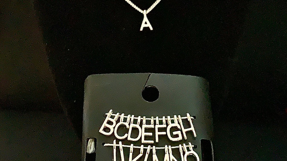Make Your Own Pendant (All Alphabets)