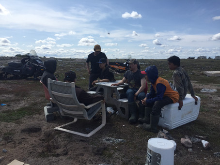 Young Hunters Learning from Elders