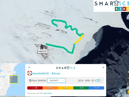 April 23, 2019 Smart Ice Tracking