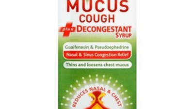 Benylin Mucus Cough + Decongestant Syrup 100ml