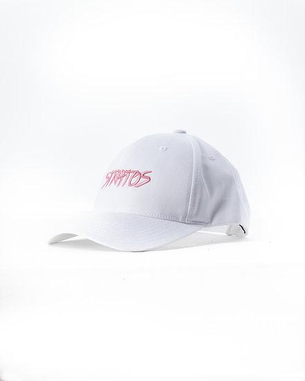 WHITE PINK SNAPBACK