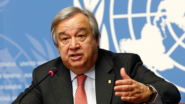 UN Secretary-General Antonio Guterres 5a