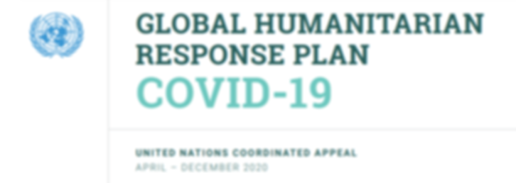 GLOBAL HUMANTARIAN RESPONSE PLAN COVID-1