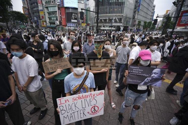 PEACEFUL PROTEST - GEORGE FLOYD - TOKYO
