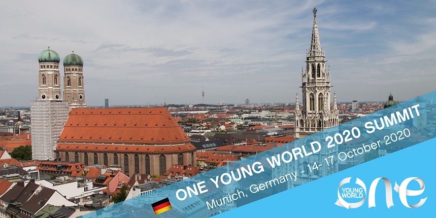 ONE YOUNG WORLD MJUNICH GERMANY SUMMIT 2