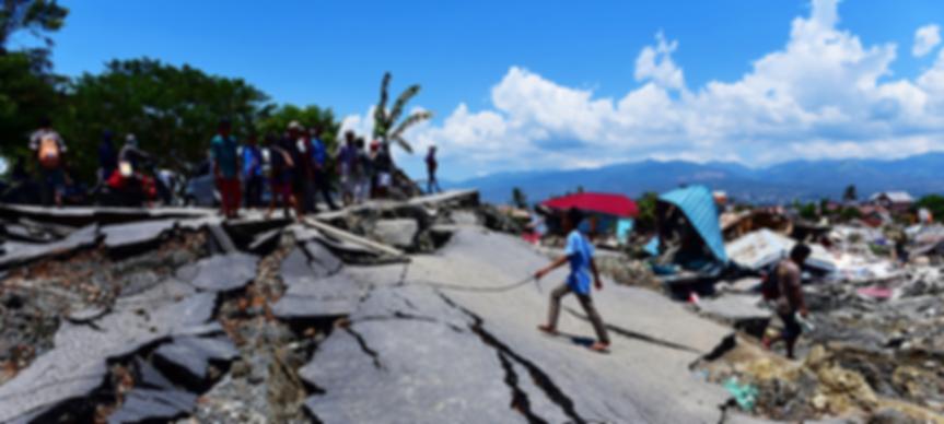 INDONESIA 7.4 EARTHQUAKE AND TSUNAMI 9.2