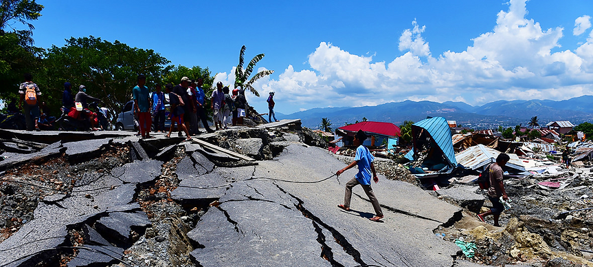 INDONESIA 7.4 EARTHQUAKE AND TSUNAMI 9.2