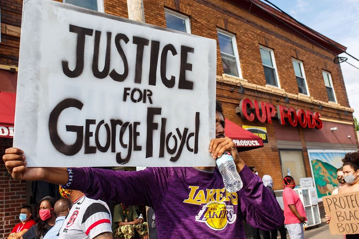 JUSTICE FOR GEORGE FLOYD PEACEFUL PROTES