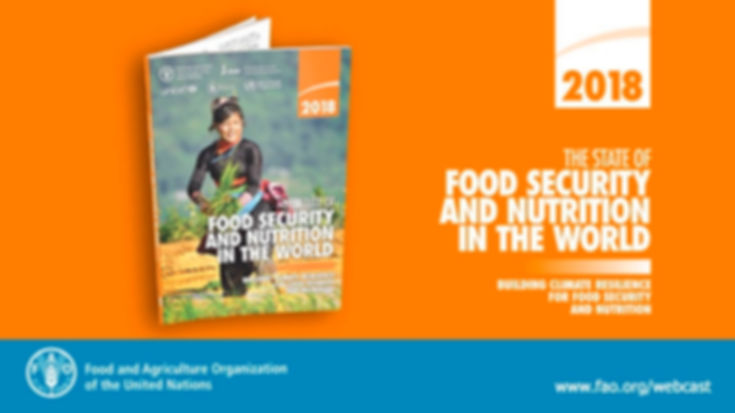 FAO STATE OF FOOD SECURITY AND NUTRITION