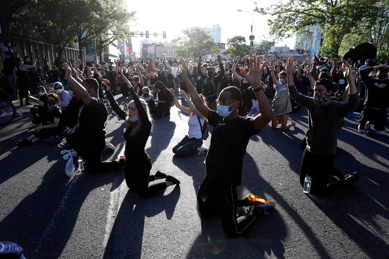 PEACEFUL PROTEST - GEORGE FLOYD - PHILAD