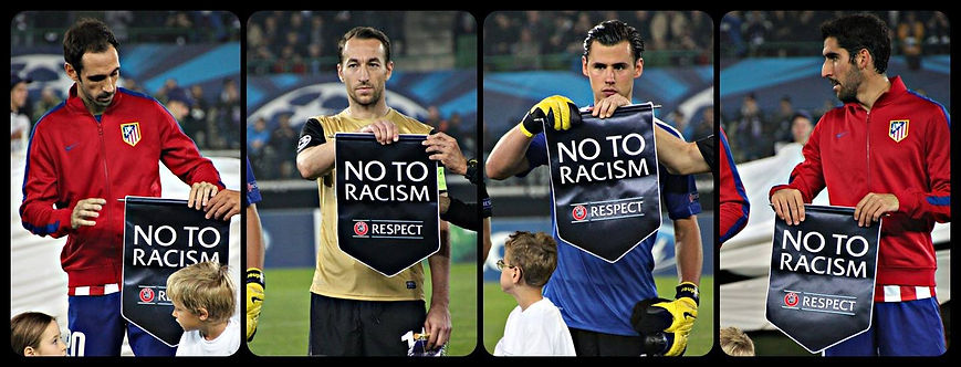 RACISM BANNED FROM SPORTS FOREVER 4.2014