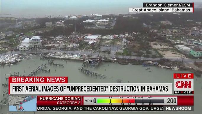 Hurricane Dorian leaves terrible damage