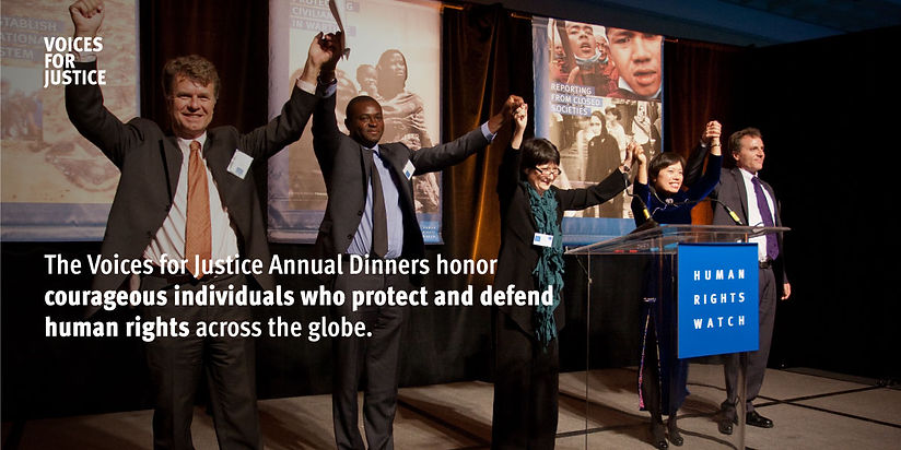 HUMAN RIGHTS WATCH VOICES FOR JUSTICE 2a