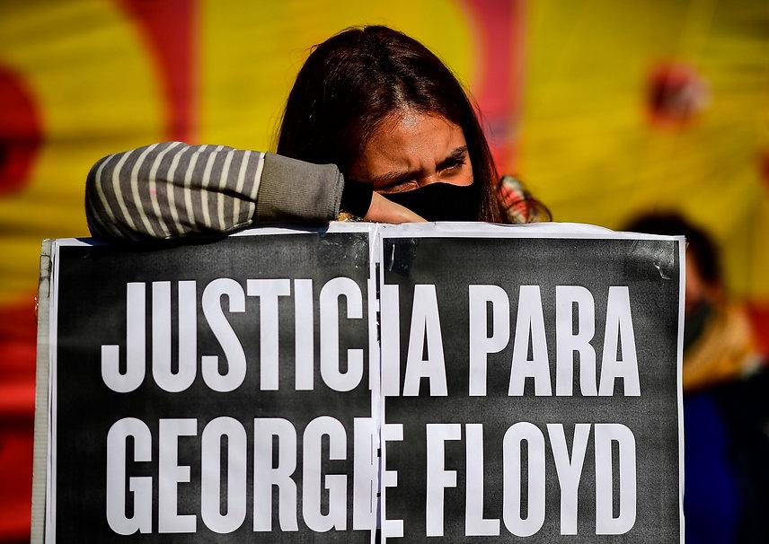 PEACEFUL PROTEST - GEORGE FLOYD - BUENOS