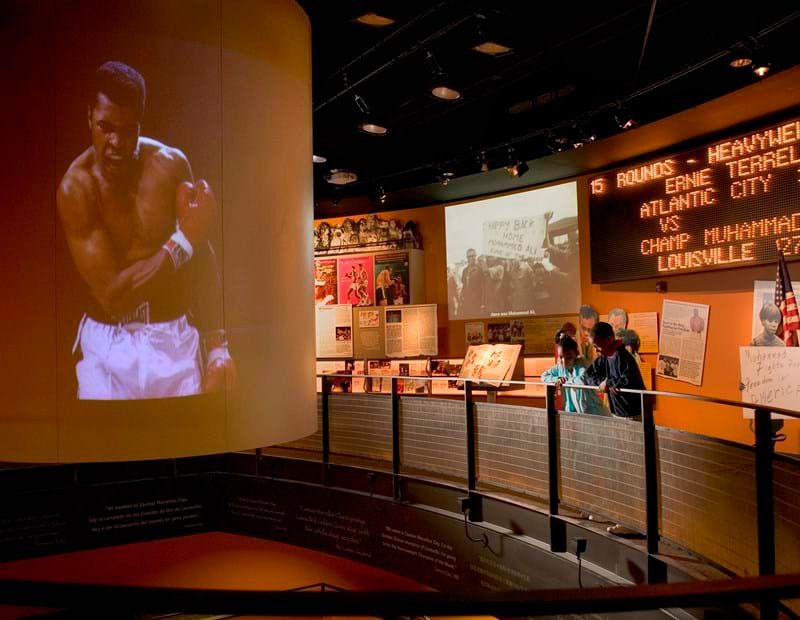 MUHAMMAD ALI CENTER BE GREAT DO GREAT TH