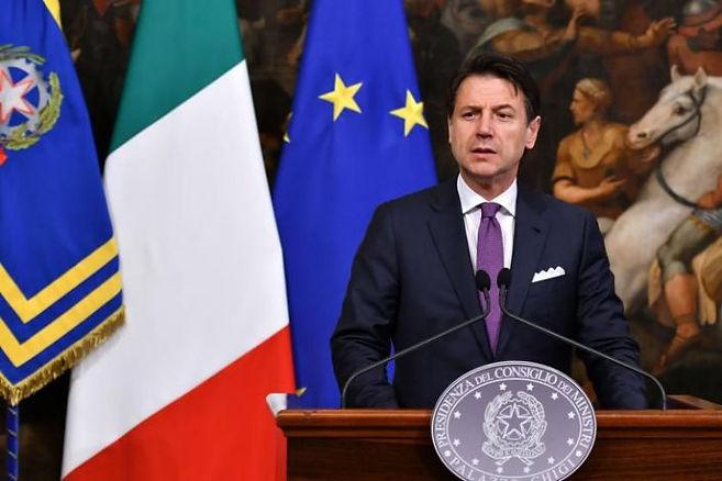 Italian Prime Minister Giusseppe Conte.j
