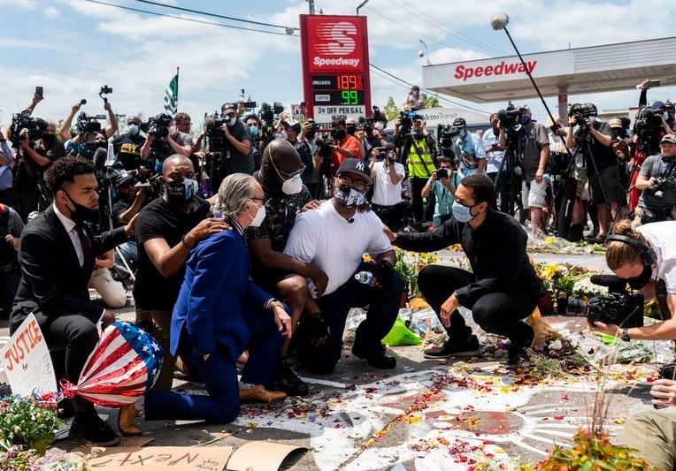 PEACEFUL PROTEST - GEORGE FLOYD - MINNEA
