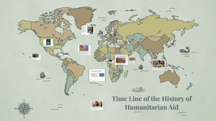 Time Line of The History of Humanitarian