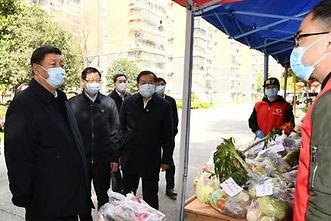 CHINA PRESIDENT XI JINPING CORONA VIRUS.