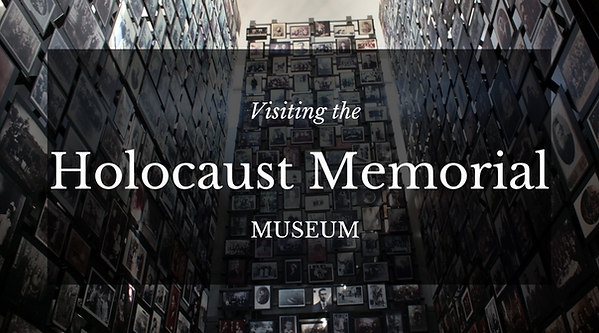Holocaust Memorial Museum Washington DC.