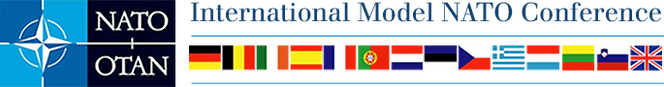 INTERNATIONAL MODEL NATO CONFERENCE LOGO