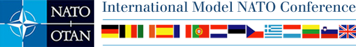 INTERNATIONAL MODEL NATO CONFERENCE LOGO