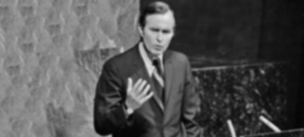 UN Ambassador President George H. W. Bus