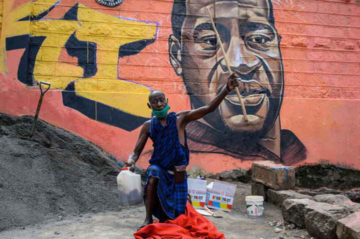 PEACEFUL PROTEST - GEORGE FLOYD - NAIROB