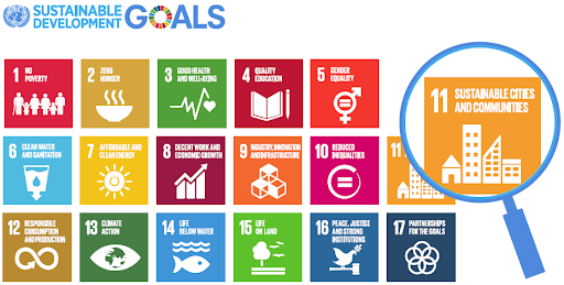 SDG 11 SUSTAINABLE CITIES AND COMMUNITIE