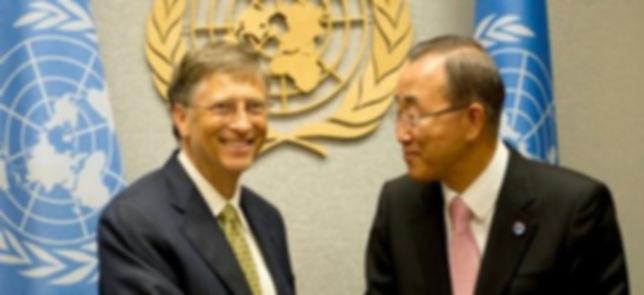 BAN KI-MOON BILL GATES CLIMATE CHANGE CO