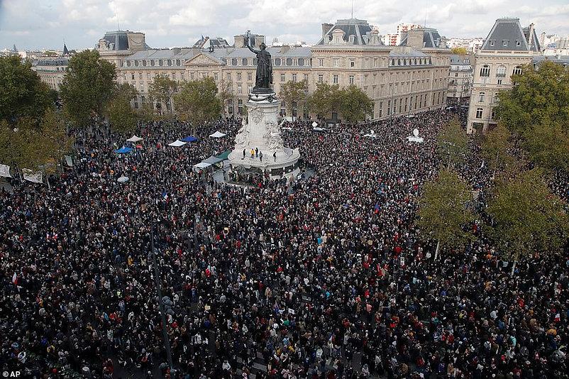 PARIS TEACHER BEHEADED IN FRANCE 10.16.2