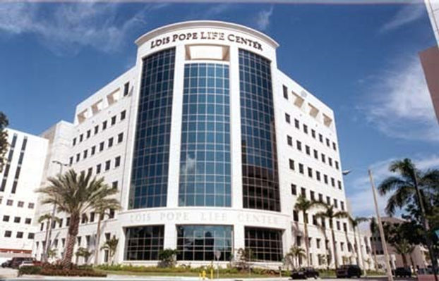 THE MIAMI PROJECT LOIS POPE LIFE CENTER.