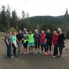 Early morning trail run/walk in the beautiful Corvallis