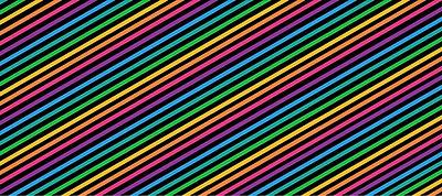 Regenbogen-Streifen