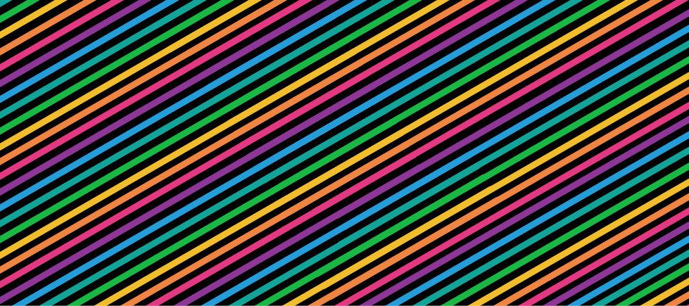 Narrow Rainbow Bracelet