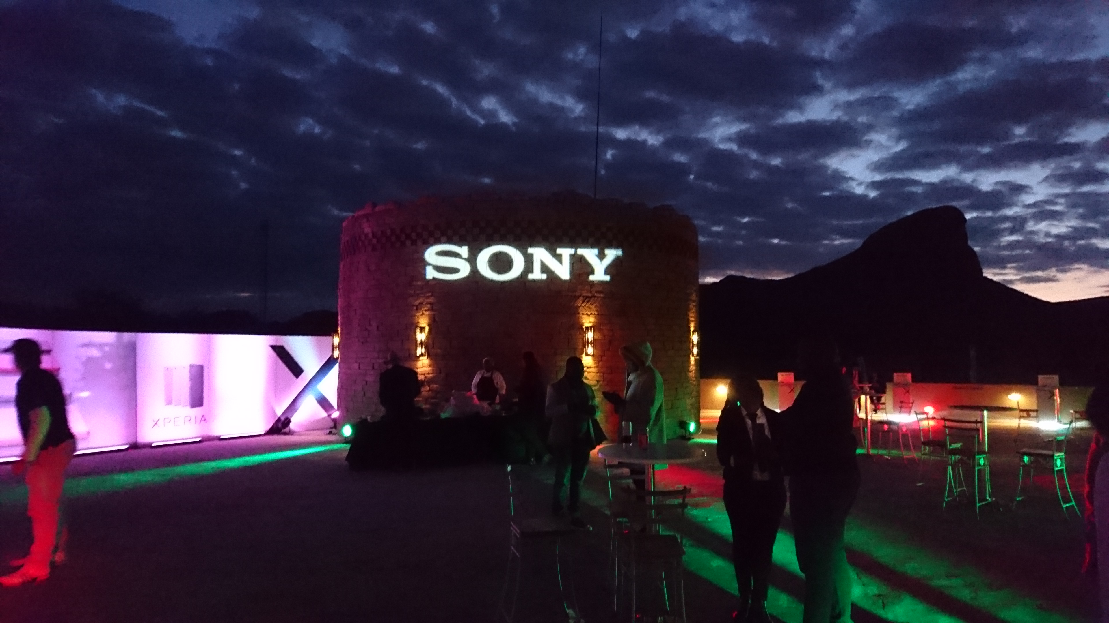 Sony Mobile launch at Legends