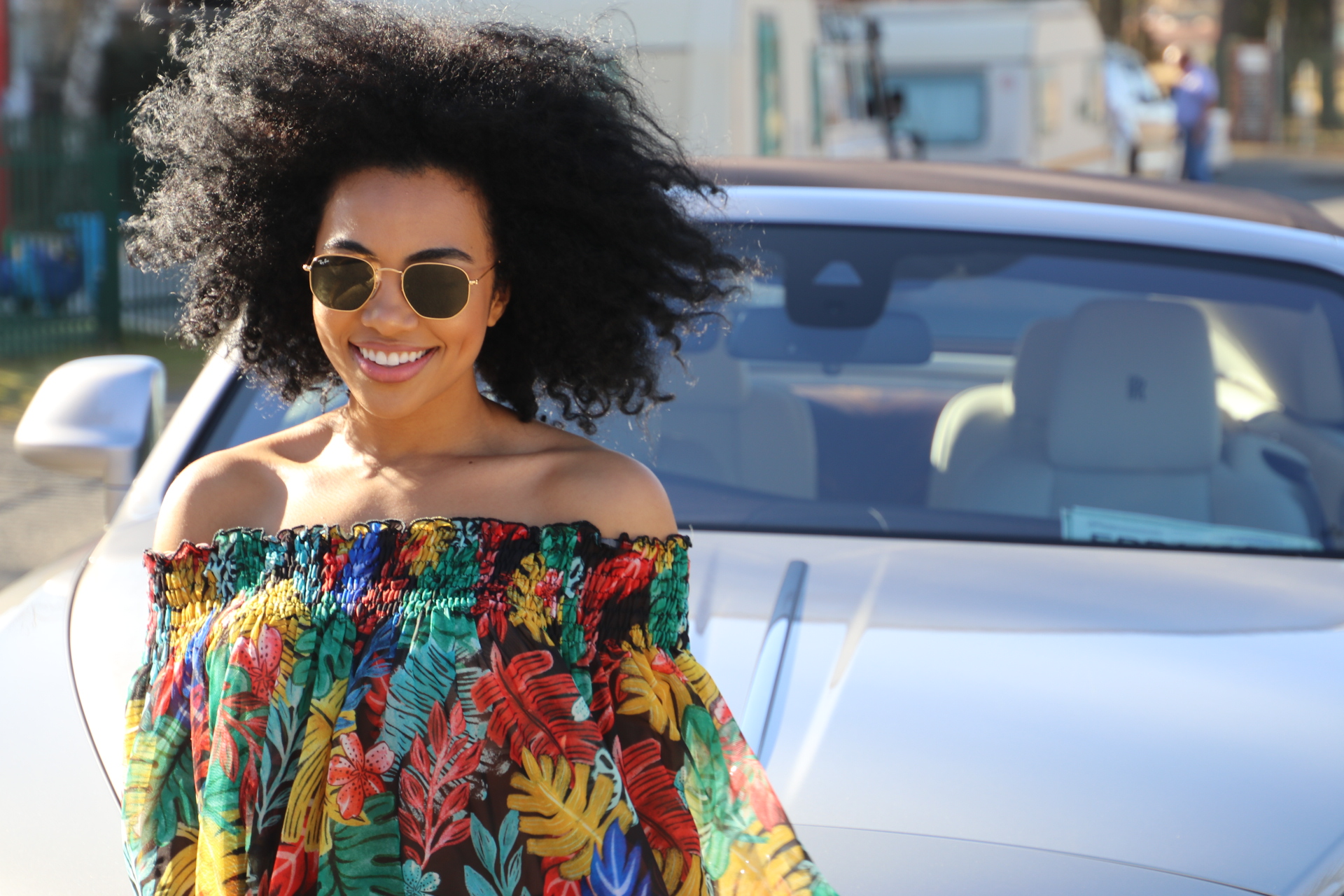Rolls Royce roadtrip with _amandadupont