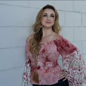 """Carrie Cunningham Shares Her Seductive Side in a New Single, """"All Over Me"""""""