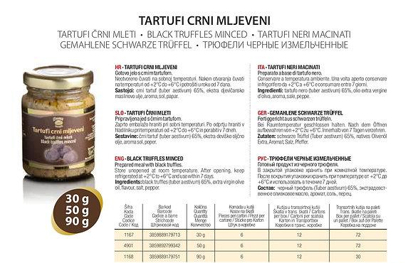 Трюфели Черные Измельченные Zigante - 30 гр