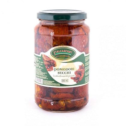 Томаты сушеные в подсолнечном масле, ITALCARCIOFI - 530 гр