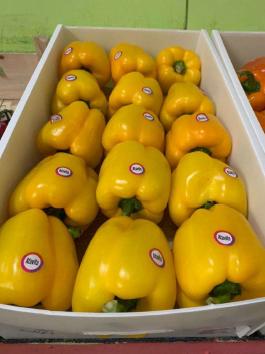 Перец Желтый Болгарский - 1 кг