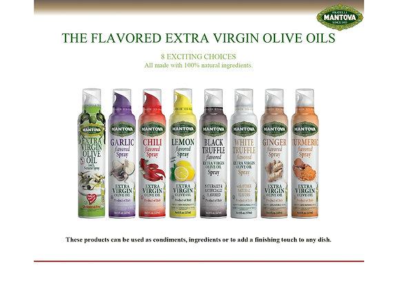"Оливковое масло ""Mantova"" extra virgin с розмарином - 200 мл"