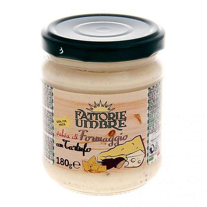 Соус из сыра и черного трюфеля, FATTORIE UMBRE - 180 гр