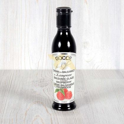 Соус-крем бальзамический с малиной, GOCCE - 220 гр