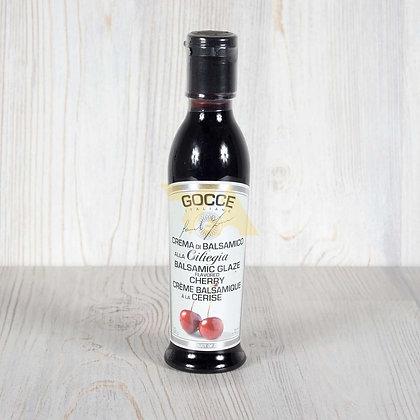 Соус-крем бальзамический с вишней, GOCCE - 220 гр