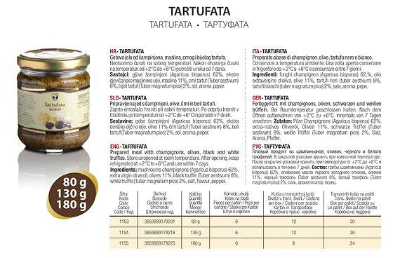 Тартуфата Zigante - 80 гр