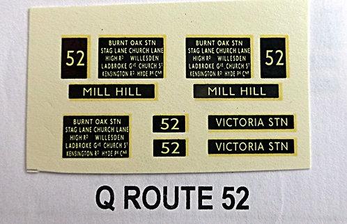 Q D/D Route 52